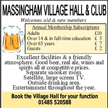 Massingham Village Hall & Club